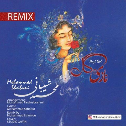 دانلود آهنگ جدید محمد شیبانی به نام نازی گل
