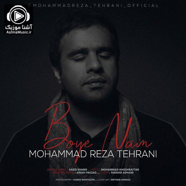 آهنگ محمدرضا تهرانی بوی نم