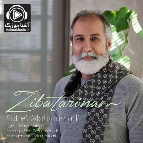 آهنگ سهیل محمدی زیباترینم