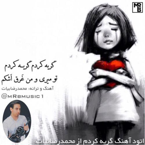 دانلود آهنگ محمدرضا بیات گریه کردم